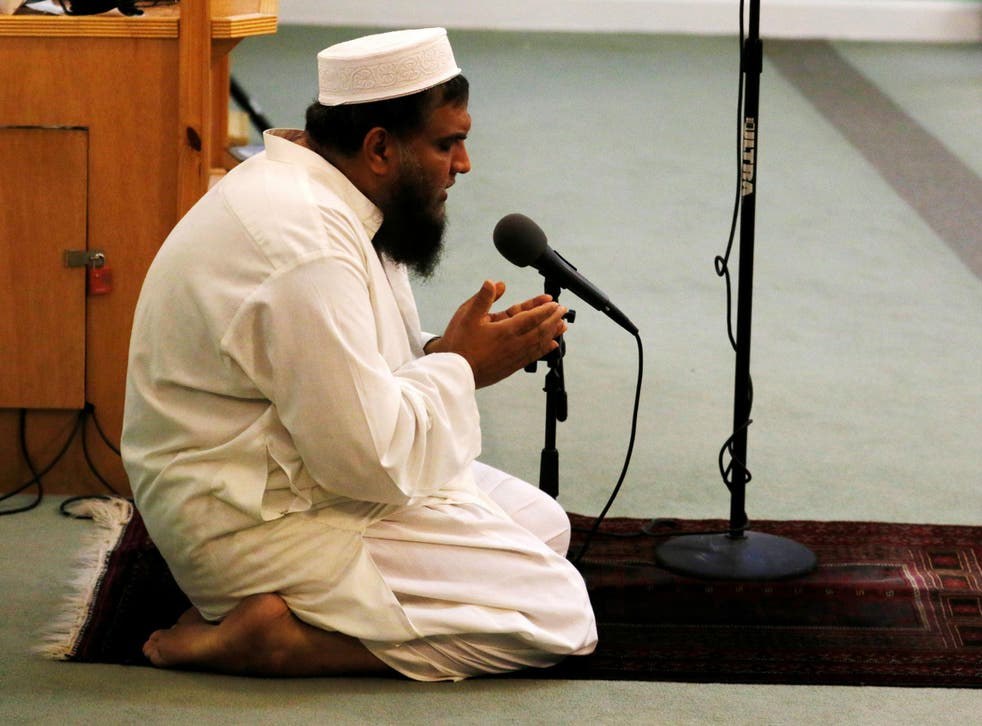 Shafiq Rehman, the imam at the Islamic Centre of Fort Pierce, led prayers for those who died