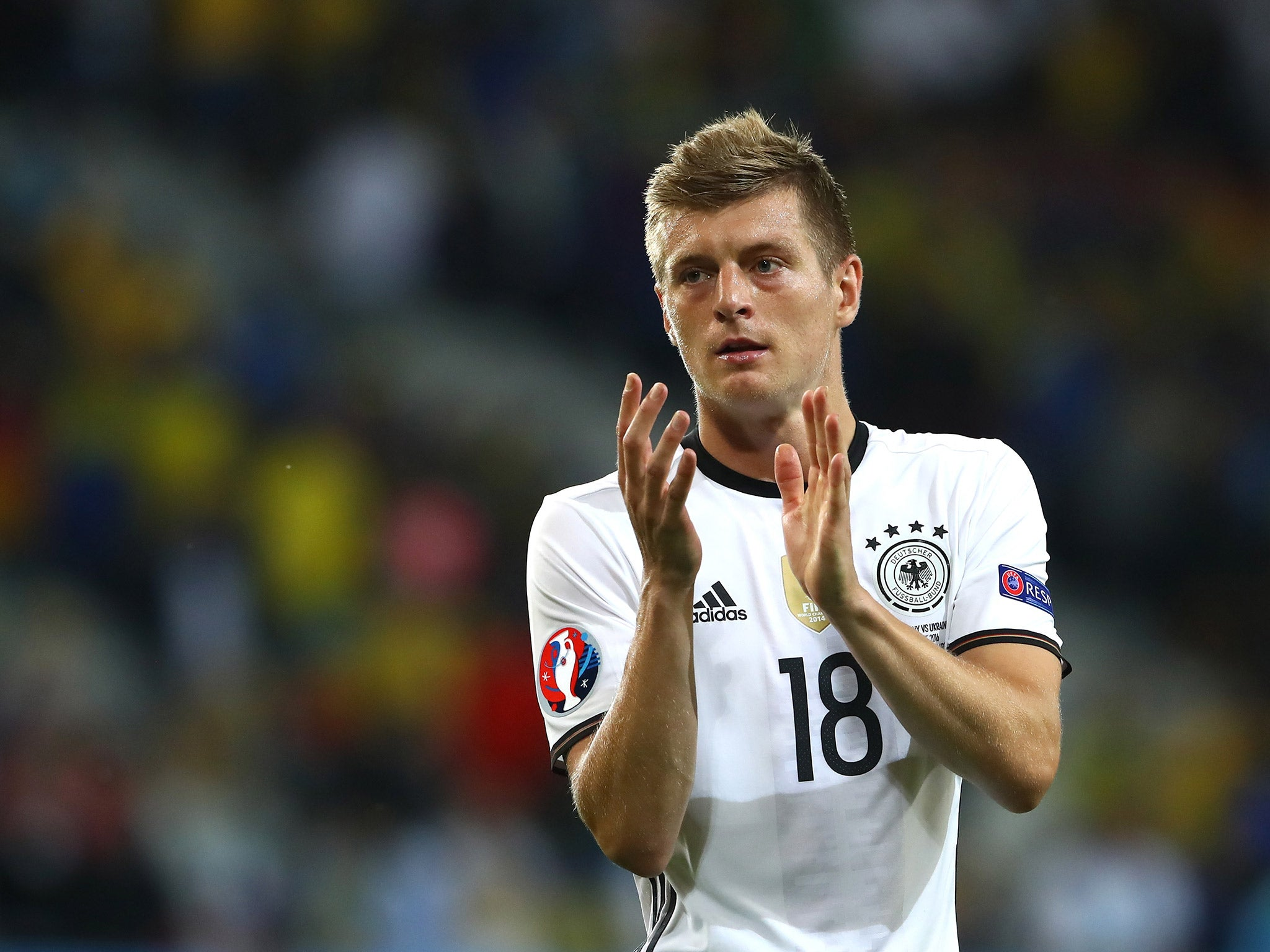 Germany vs Ukraine player ratings Toni Kroos runs the show as
