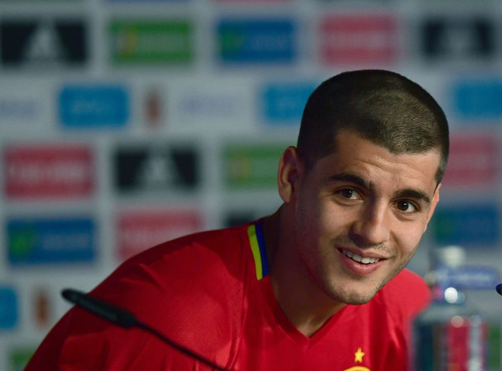 Spain striker Alvaro Morata is said to favour a move to Manchester United or Chelsea