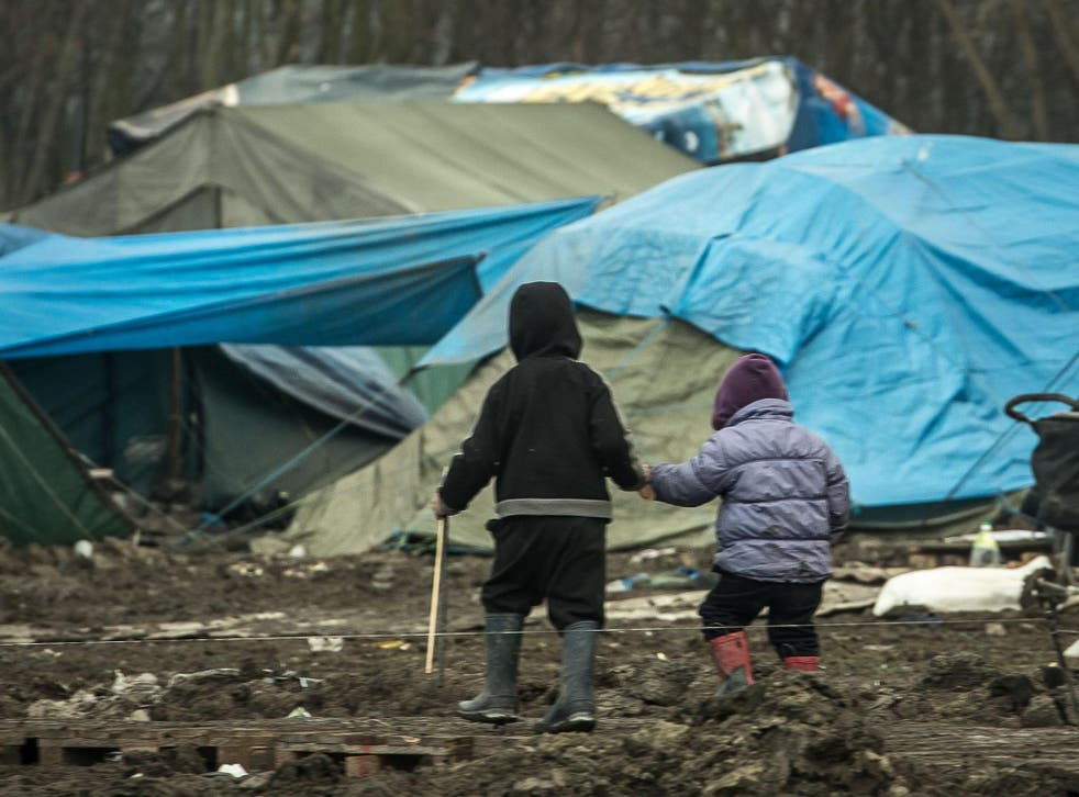 The refugee camps in Calais and Dunkirk could be moved across the border if the treaty is scrapped