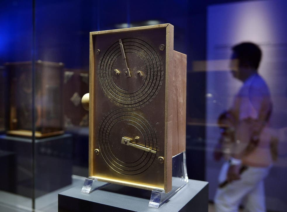 The Antikythera Mechanism (reconstruction), described as the 'world's first analogue computer', was created 2,000 years ago