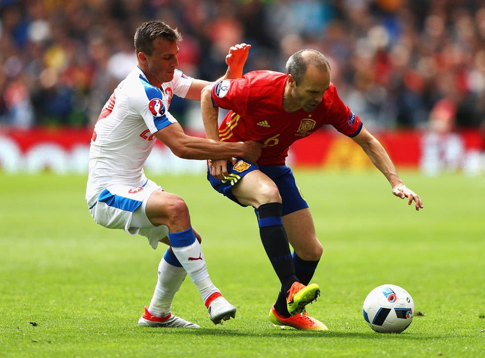 Iniesta put in a man-of-the-match display