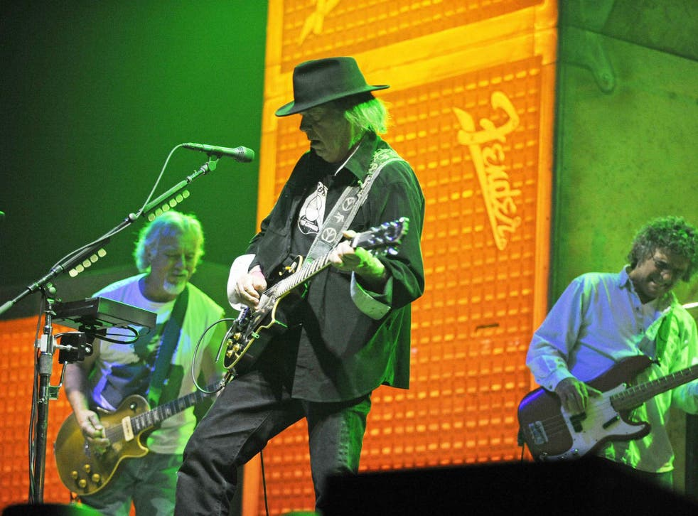 Neil Young in performance