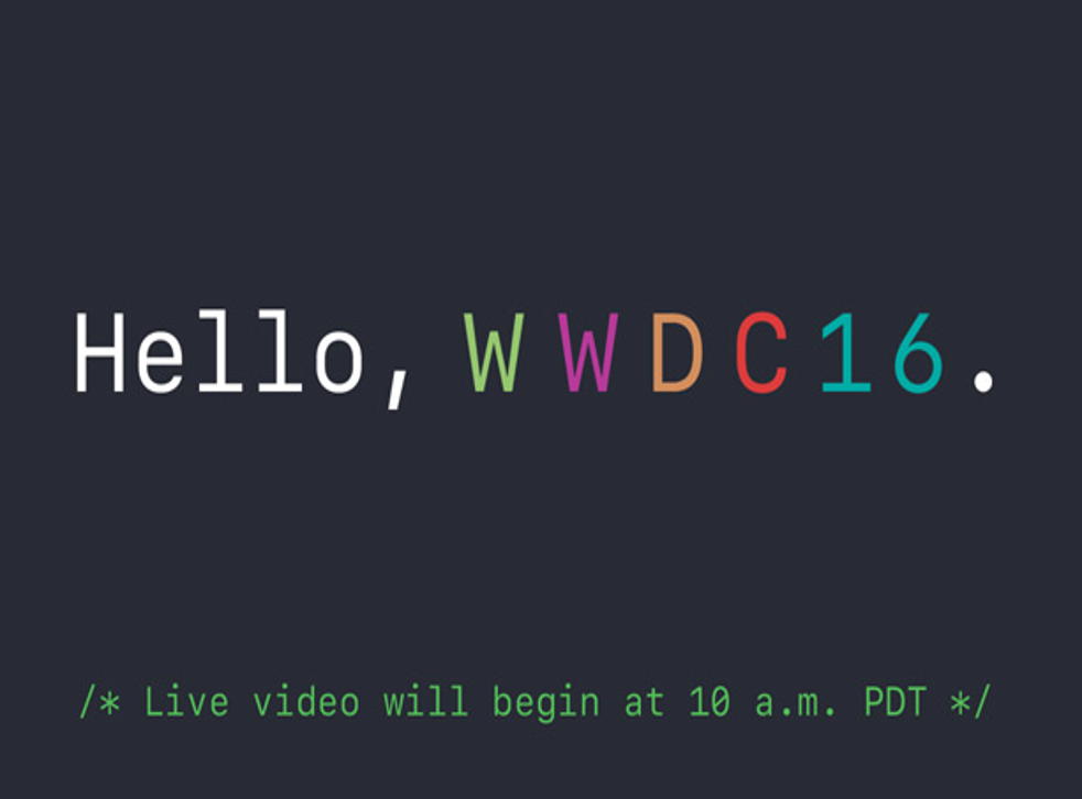 The conference will be streamed live from 6pm GMT