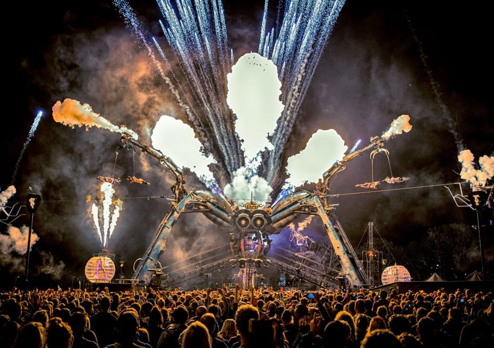 glastonbury 2016 meet the creators of arcadia as they prepare to