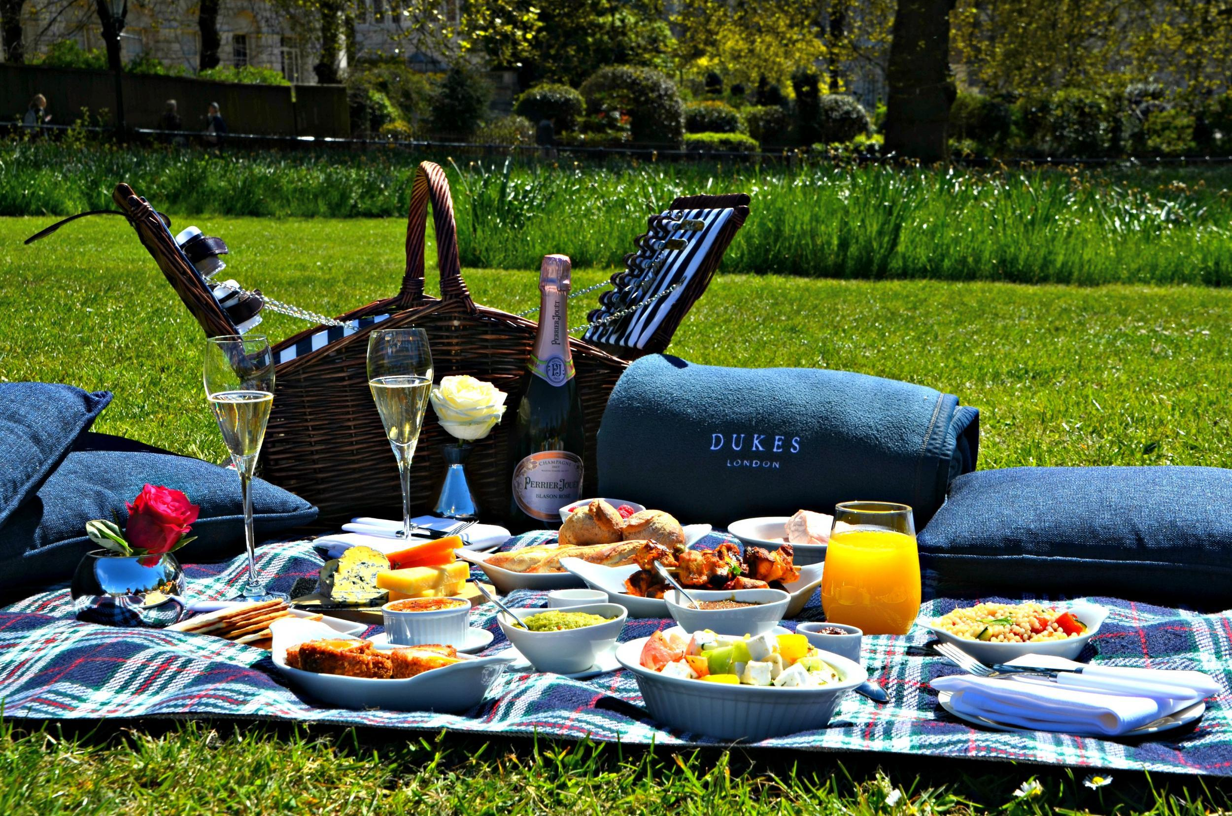 The Five Best Hotels For A Picnic The Independent