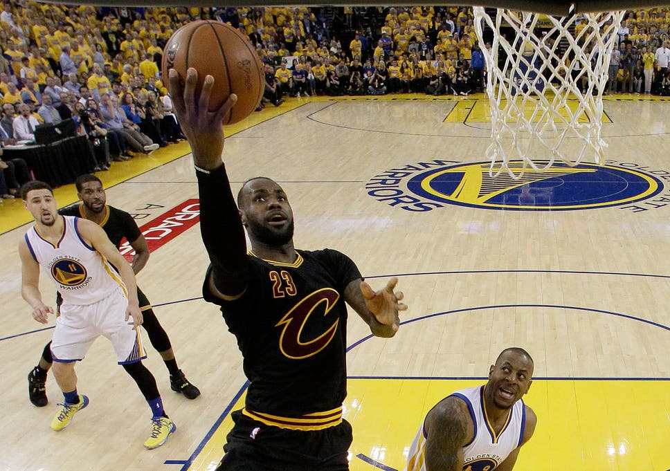 low priced ada66 50465 NBA Finals 2016: LeBron James and Kyrie Irving fire ...