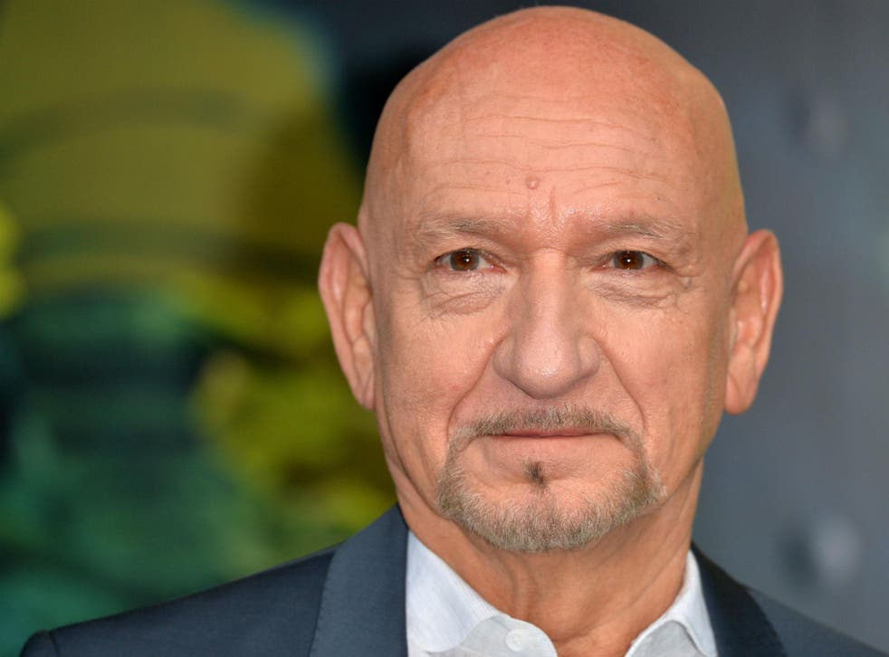 Sir Ben Kingsley is 'spurred on' by the criticism and discrimination he has faced throughout his career