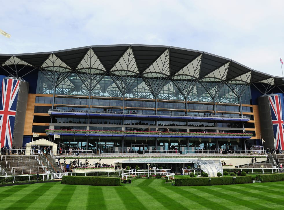 eneral view of the outside of Ascot Racecourse during Day One of Royal Ascot 2016