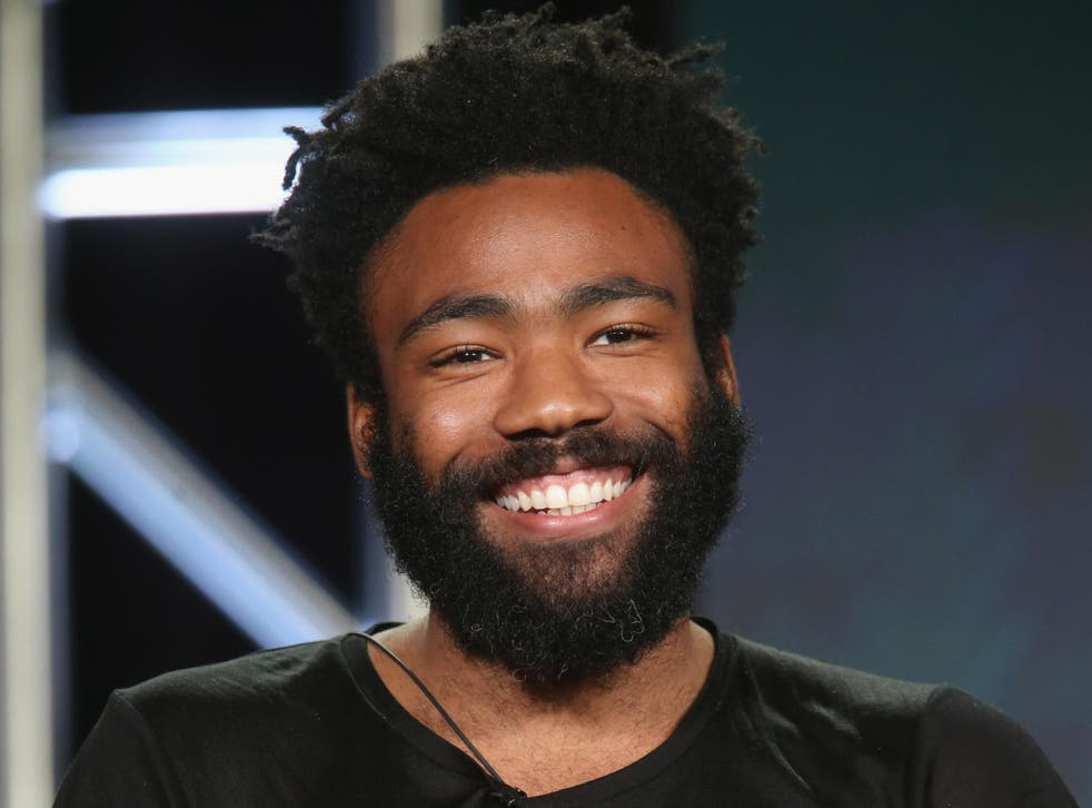 Donald Glover at the 2016 Winter TCA Tour.
