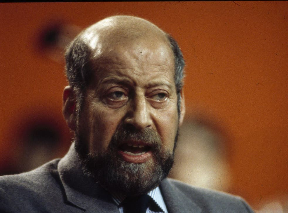 Clement Freud the politician in 1986