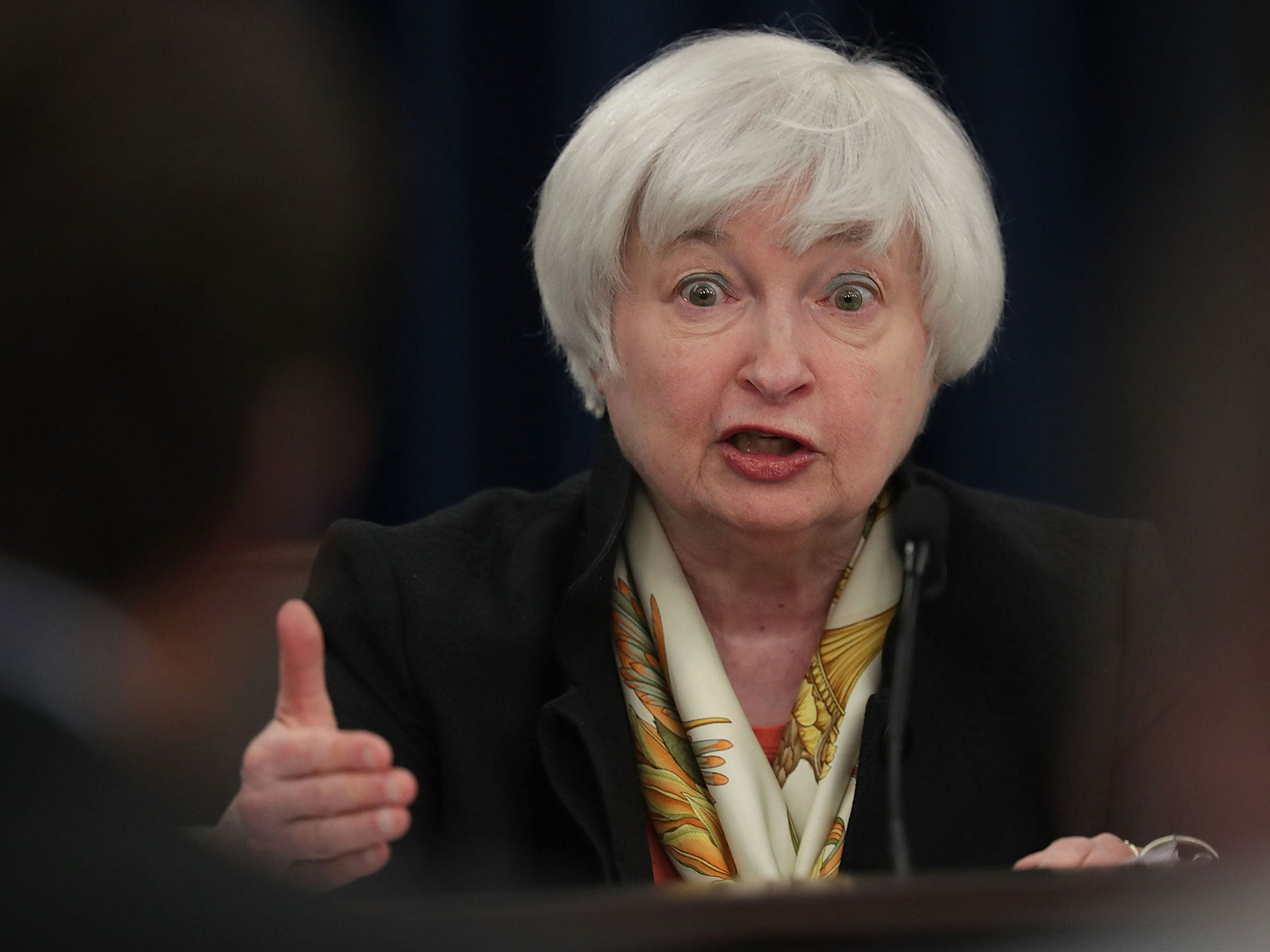Dollar rallies on Janet Yellen's rate talk following Donald Trump slump