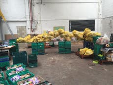 Food waste campaigners save hundreds of loaves of Sainsbury's bread to feed hungry schoolchildren in Leeds
