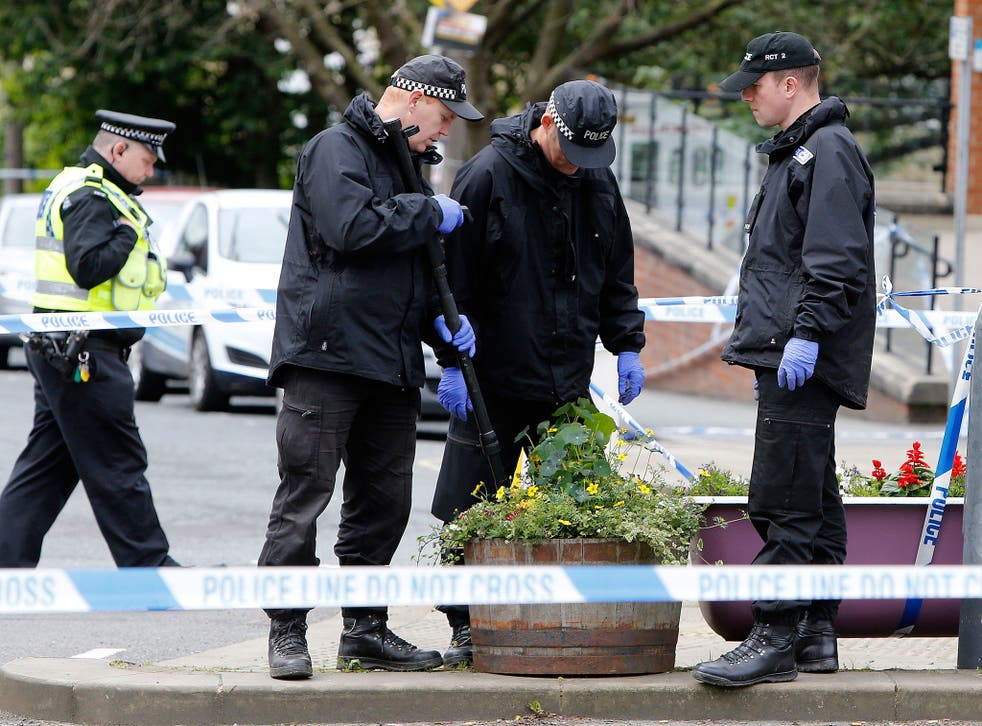 Police continue to investigate, assisted by the North East Counter Terrorism Unit