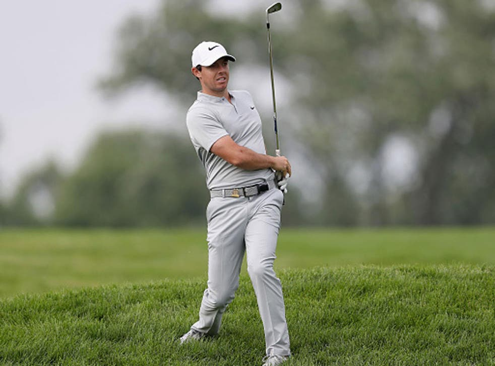 Rory McIlroy had a shocker at Oakmont in his opening round (Getty)