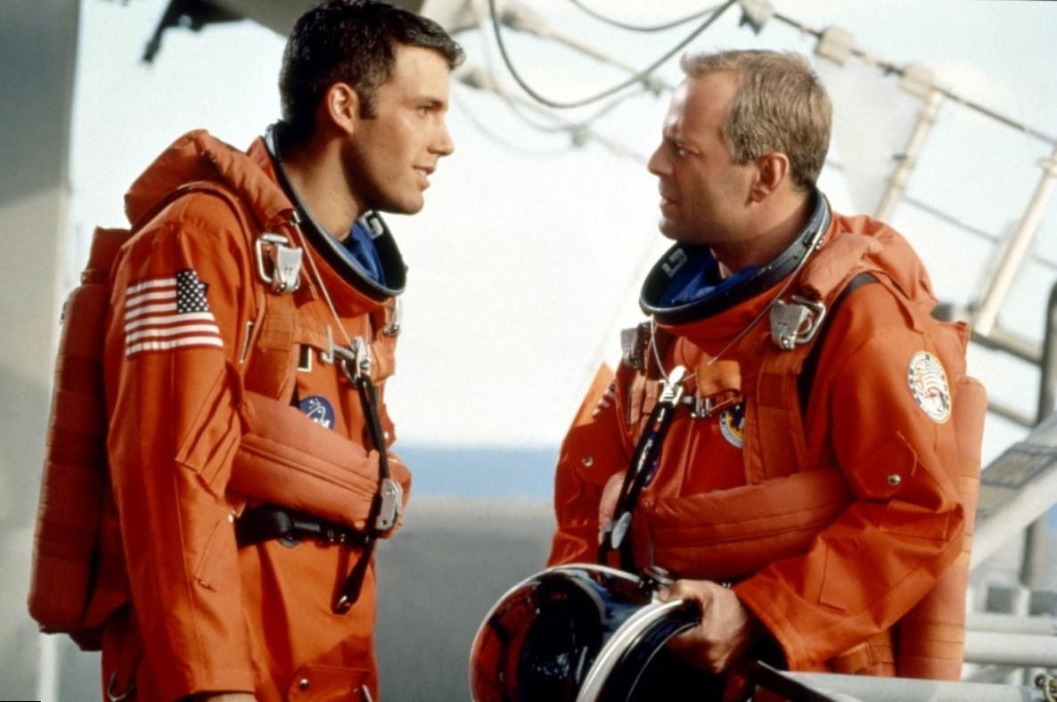 Ben Affleck's Armageddon DVD commentary is a must-watch ... Ben Affleck Armageddon