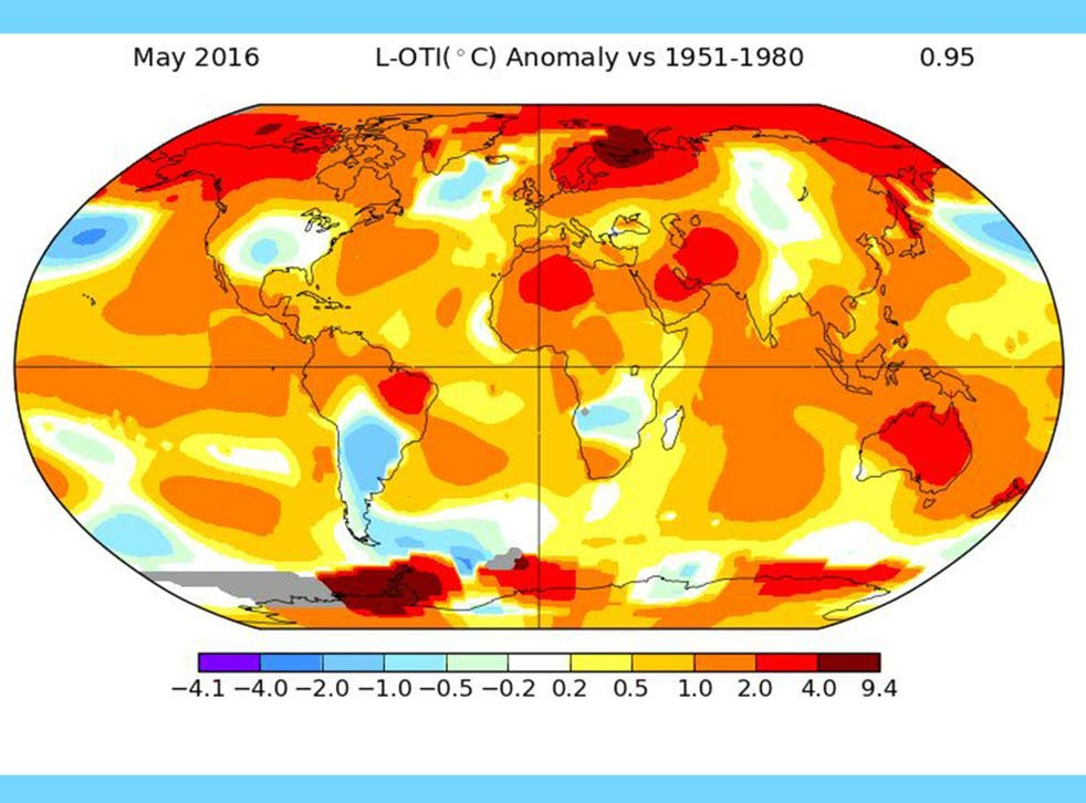 May was hottest month on record, as carbon dioxide in Antarctica also reaches highest ever levels