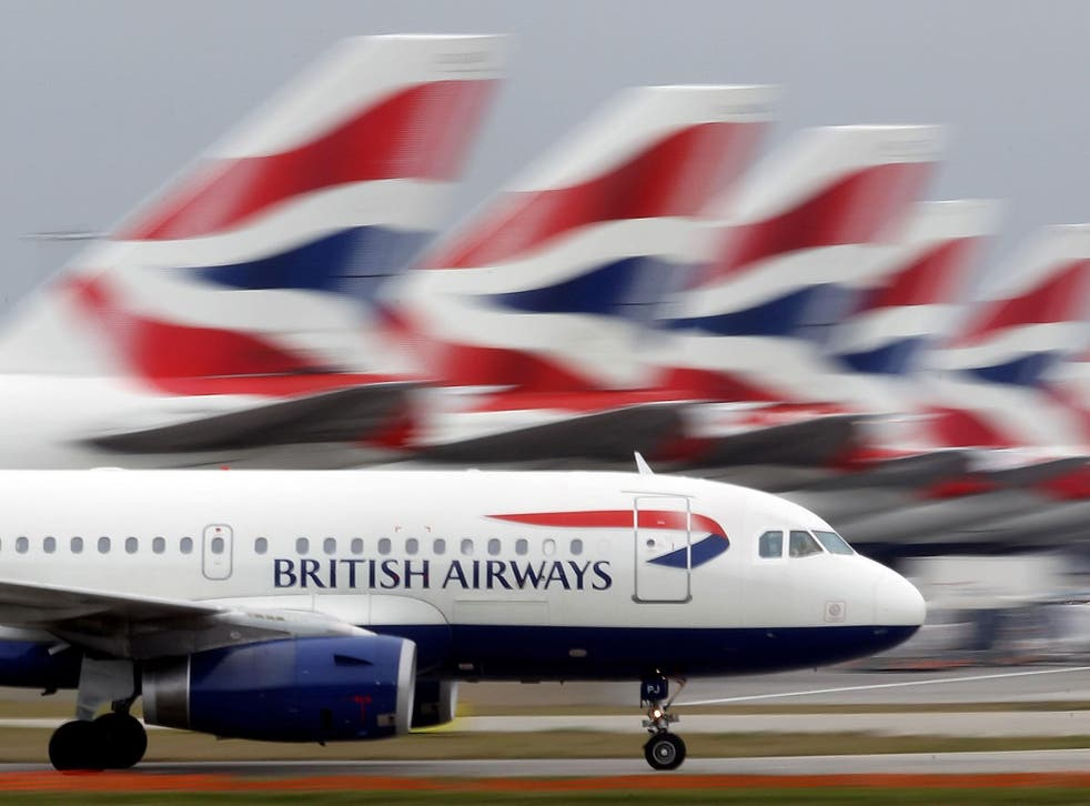 British Airways says it will be hit by less people travelling and a weaker pound