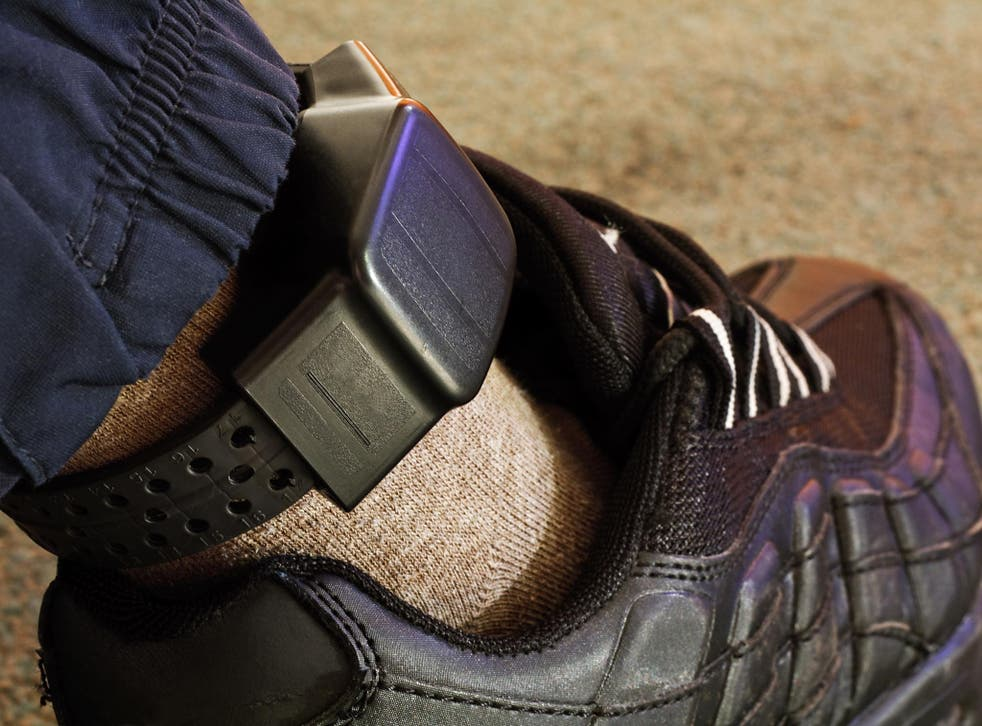 GPS tracking anklet