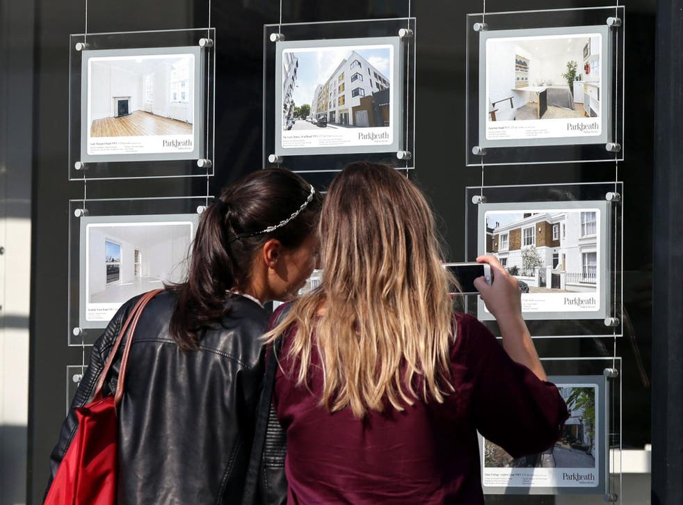 Home ownership has fallen 7 per cent in England from a peak of 70.8 per cent in April 2003