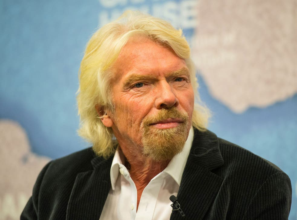 Richard Branson said the UK will face difficult choices over the coming years