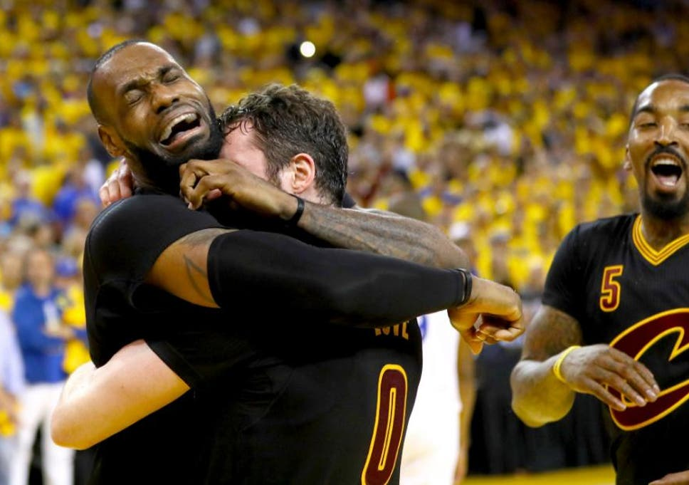 buy popular b83a2 00ee0 LeBron James' Cleveland Cavaliers win first NBA title with ...