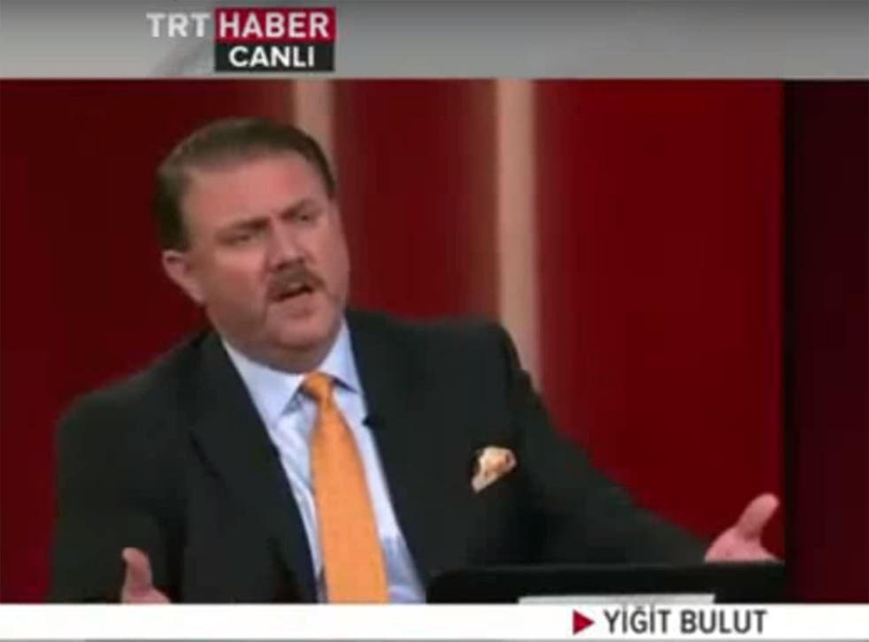 Former journalist Yiğit Bulut is a regular on state television channel TRT Haber