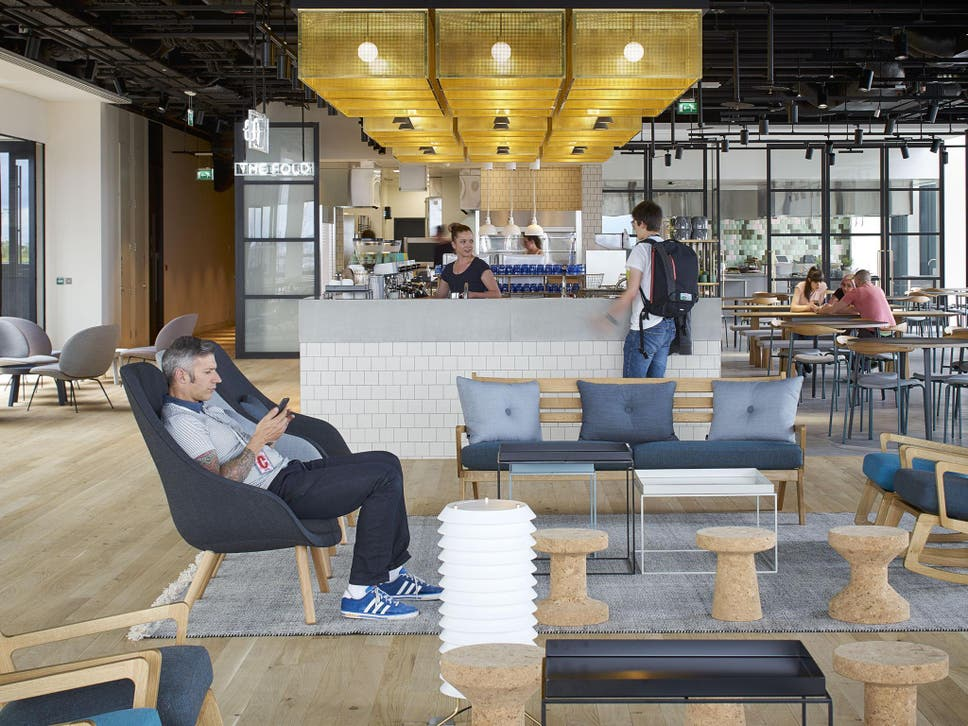 google office in uk. All Food And Drink In The Cafes Canteens Is Free Google Office Uk