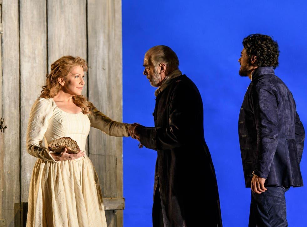 Joyce Didonato as Charlotte, Jonathan Summers as Le Bailli and Vittorio Grigolo as Werther