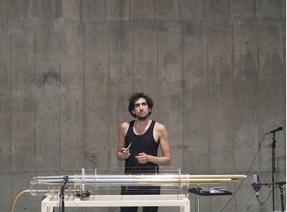 Tarek Atoui: The Reverse Collection, 2014, installation