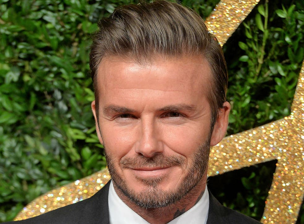 David Beckham said 'we should be facing the problems of the world together and not alone'