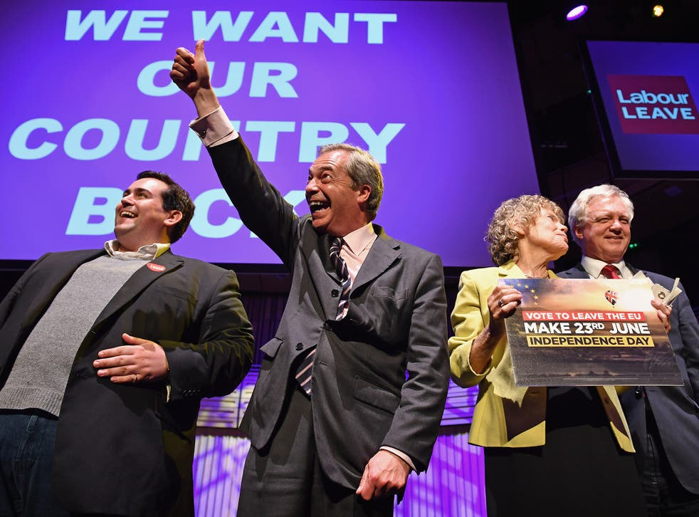 64 per cent of Ukip voters believe it is likely that the referendum will be rigged
