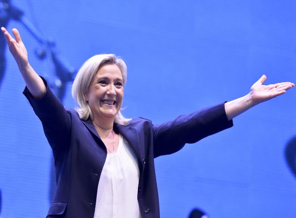 Marine Le Pen, leader of the far-right Front National