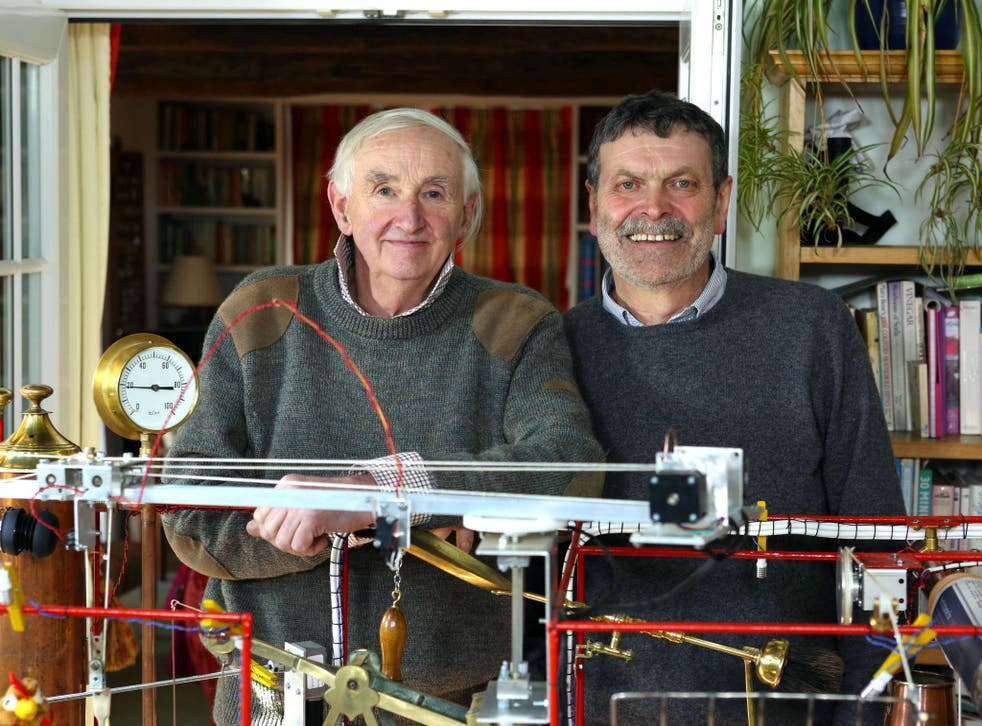 Pete and Merv in Britain's Most Spectacular Backyard Builds on Sky1