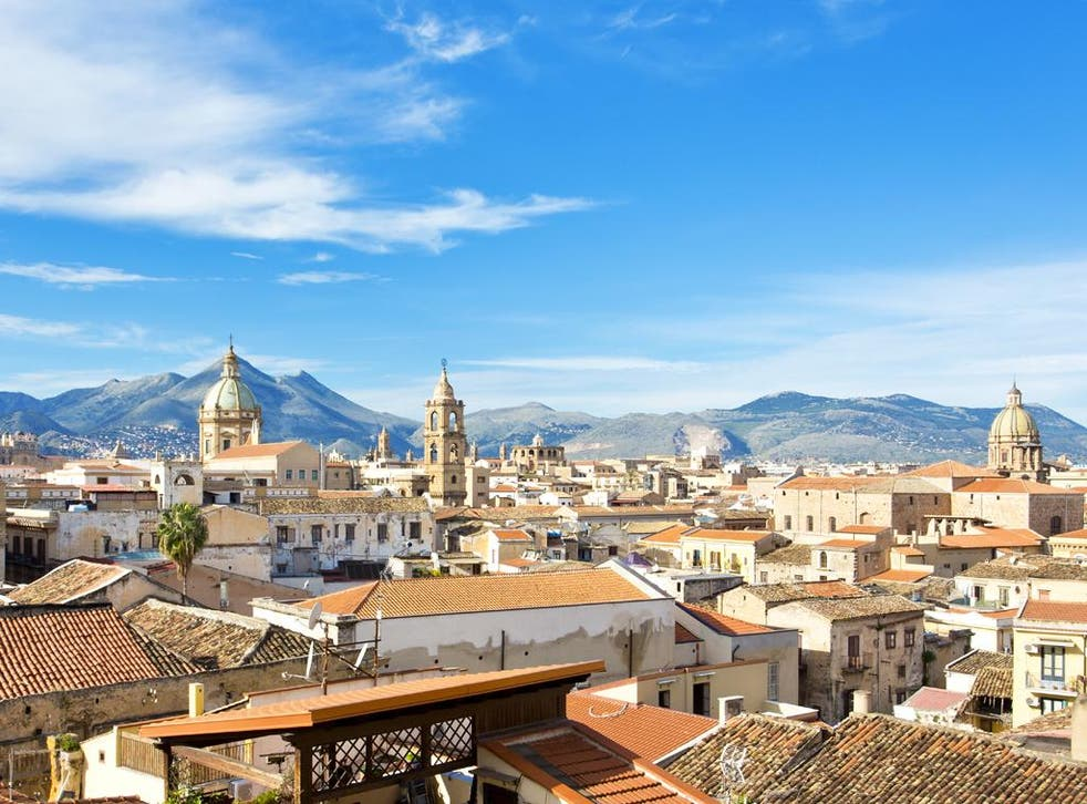 The rooftops of Palermo