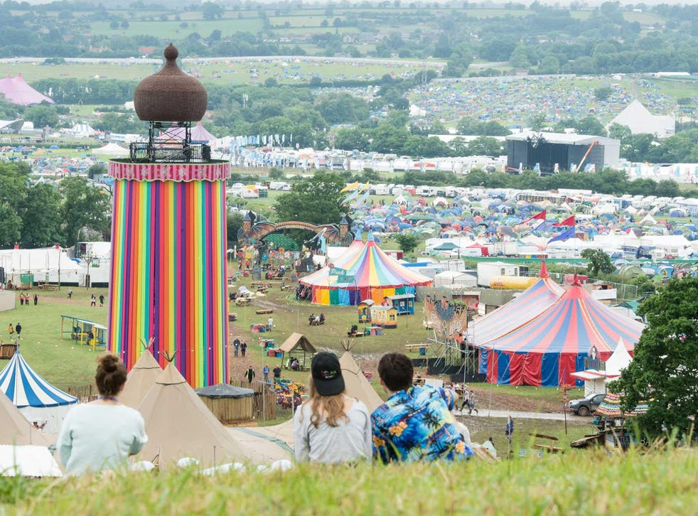 You can livestream six of Glastonbury's main stages on the BBC's Glastonbury website