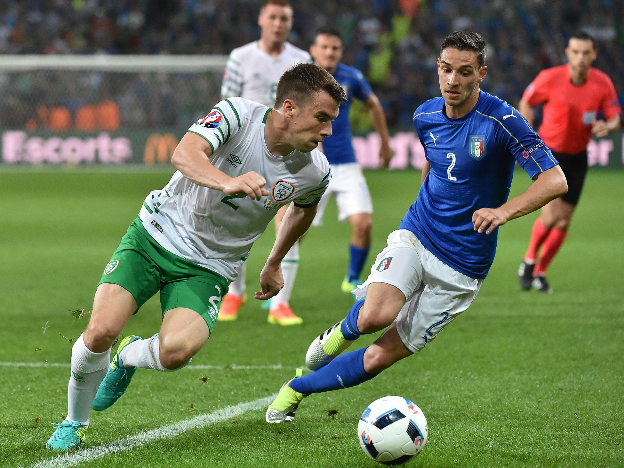 italy vs republic of ireland euro 2016 live latest score and updates after robbie brady late. Black Bedroom Furniture Sets. Home Design Ideas