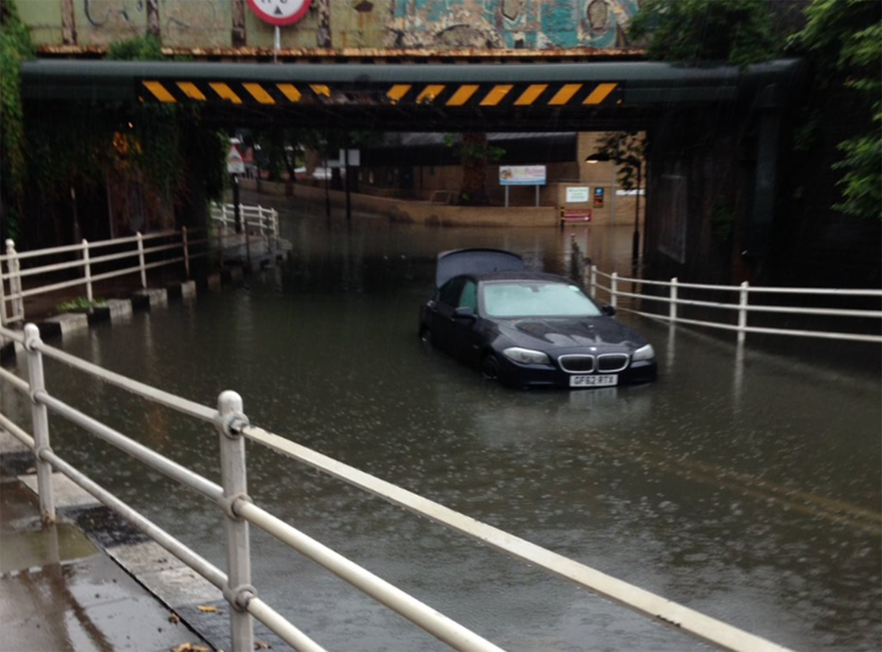 Flooding could become an increasing problem as climate change brings stormier weather