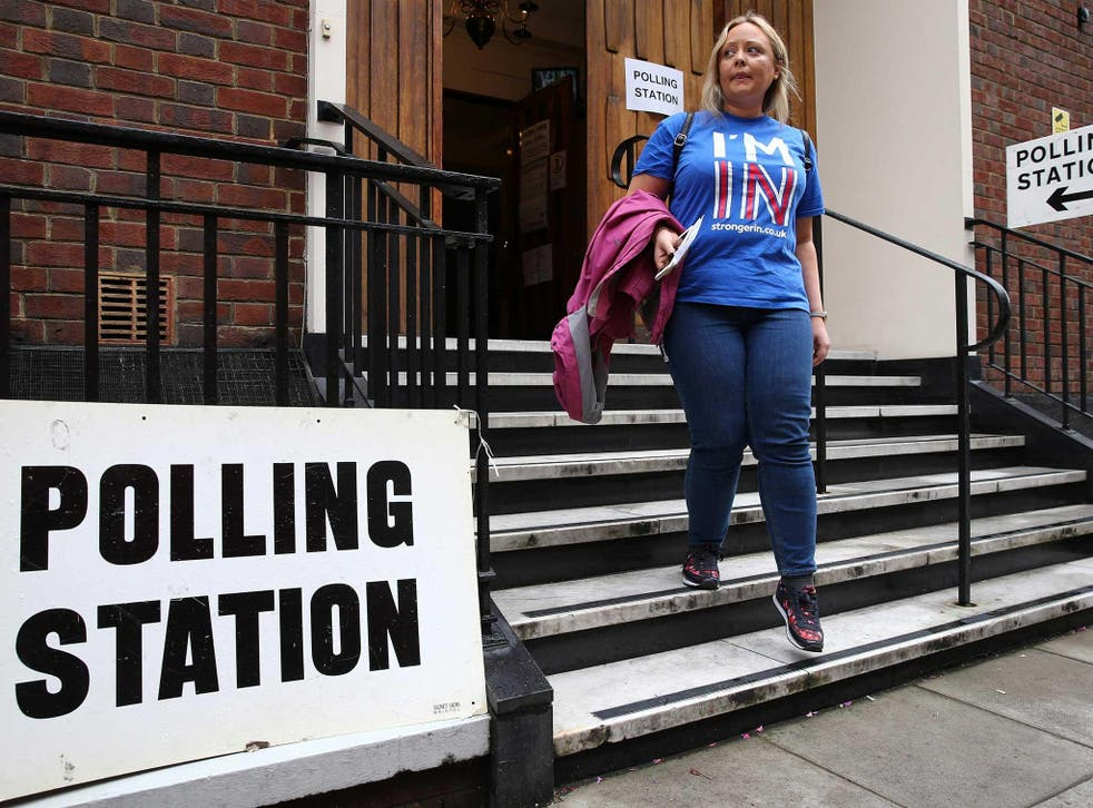 Millions of Brits are deciding the fate of Britain today