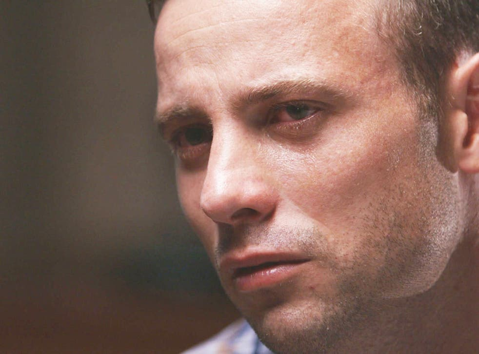 In the documentary, Pistorius gives his account of what happened the night he killed his girlfriend