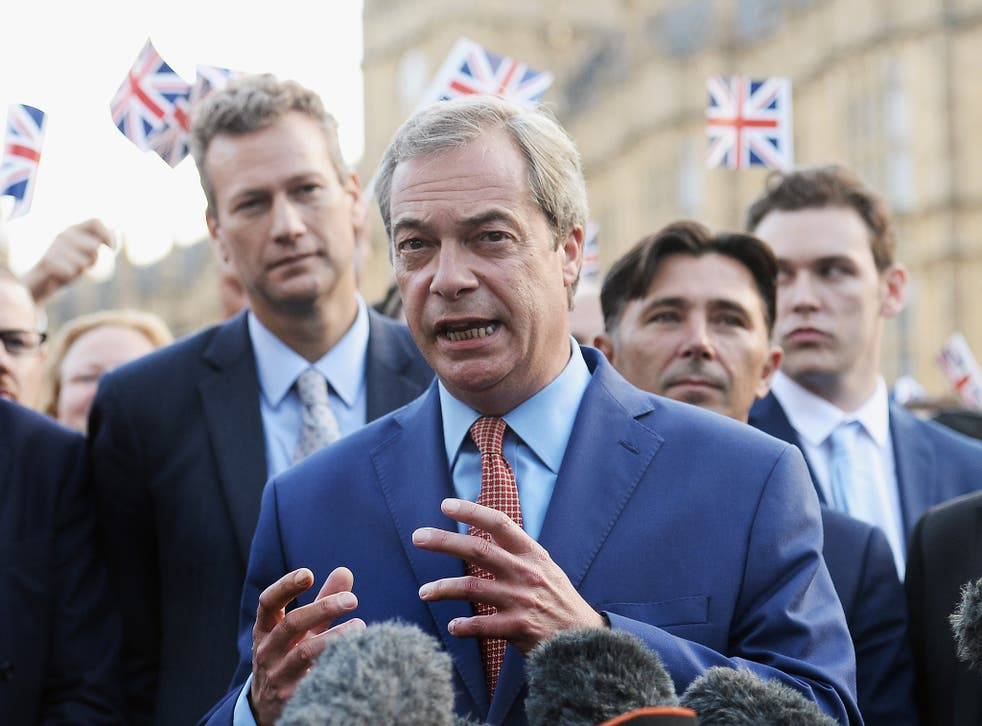 Farage: Brexit is 'victory for decent people'