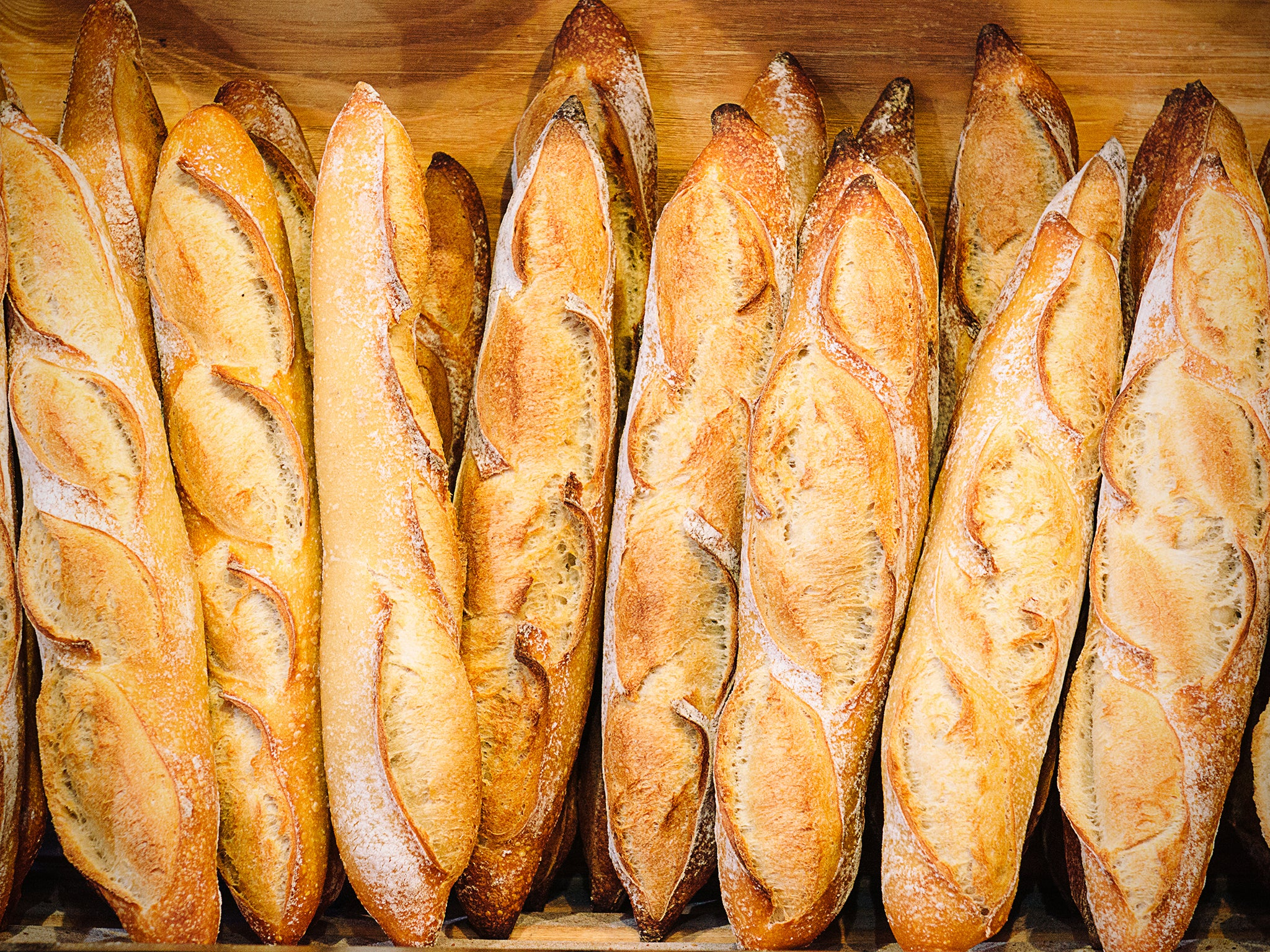 French People Losing Appetite For Baguettes The Independent Voucher Eric Kayser