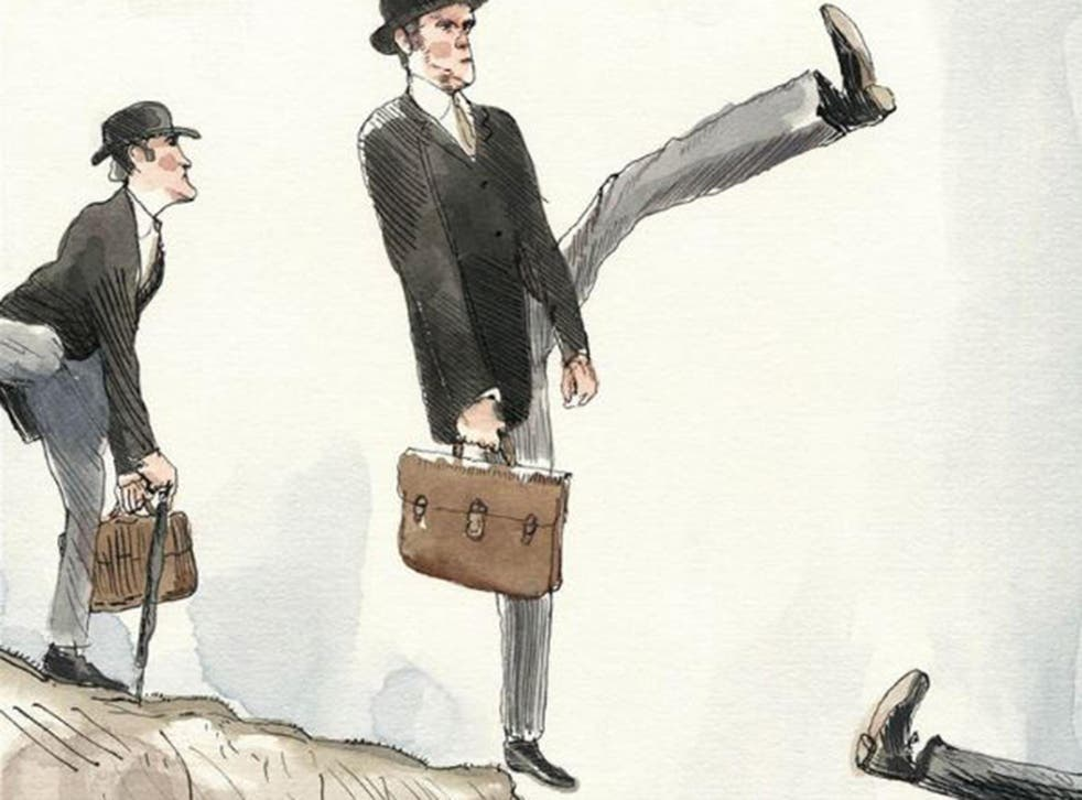 The New Yorker had us silly walking ourselves off a cliff