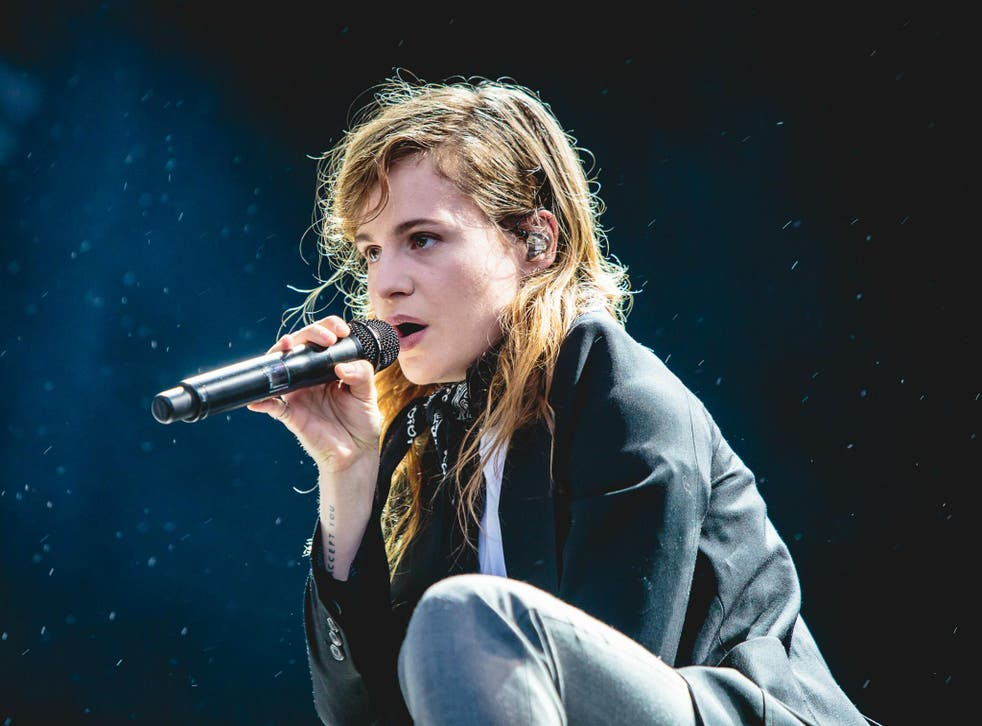 French singer Héloïse Letissier performing as Christine and the Queens