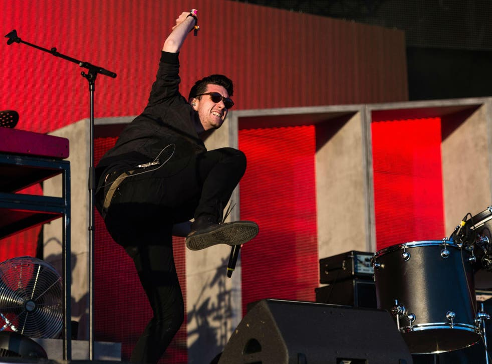 Dan Smith of Bastille changed the lyrics of 'Pompeii' to reflect his disappointment at Brexit