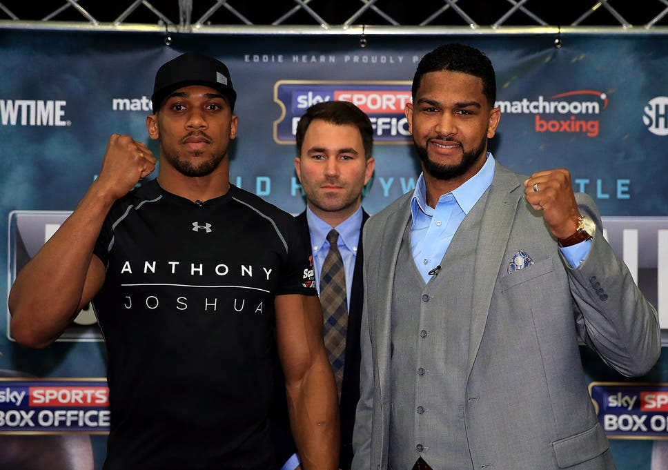 Anthony Joshua Vs Dominic Breazeale What Time Does It Start What