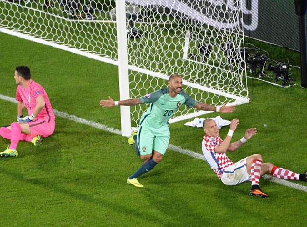 Ricardo Quaresma broke the deadlock with minutes of extra-time remaining (Getty)