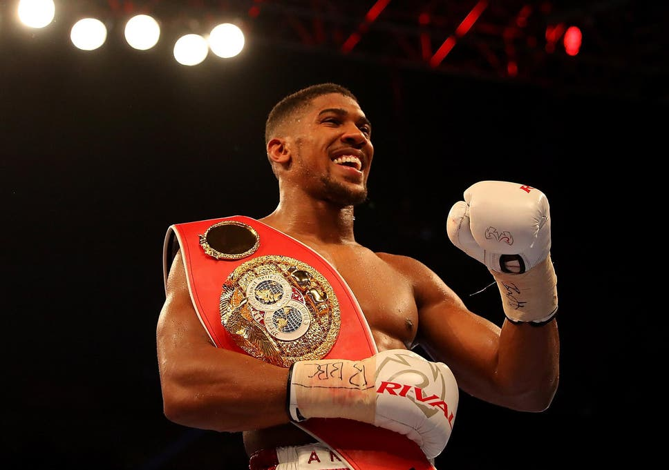 Antony Joshua Vs Dominic Breazeale World Champion Retains Ibf