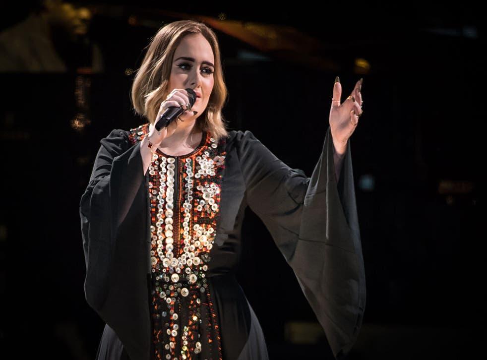 <p>Grammy-winning songstress Adele is queen of the tearjerker</p>