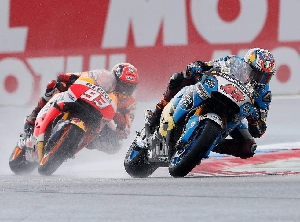 Motogp Jack Miller Wins Chaotic Dutch Tt In Rain Affected Thriller At Assen As Valentino Rossi Crashes Out The Independent The Independent